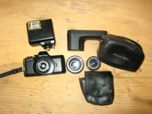 Spiegelreflex Pocketfilm Kamera