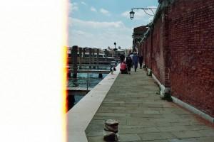 halbes Bild von Venedig