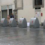Mülleimer Florenz